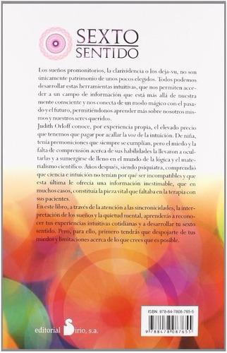 libro, sexto sentido de dra judith orloff.