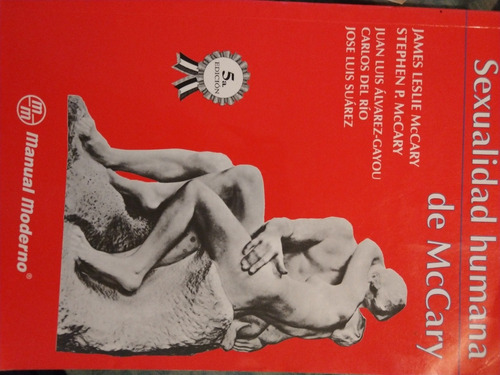 libro sexualidad humana de mccary/ manual moderno