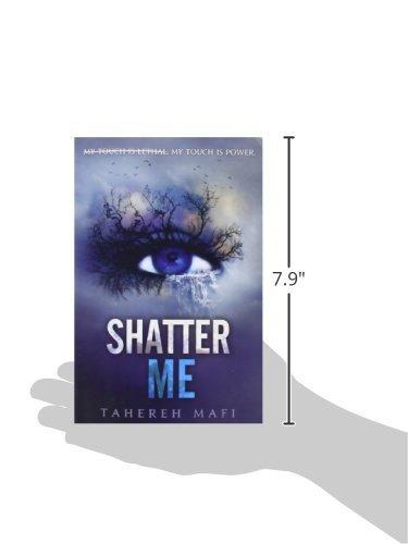 libro shatter me - nuevo