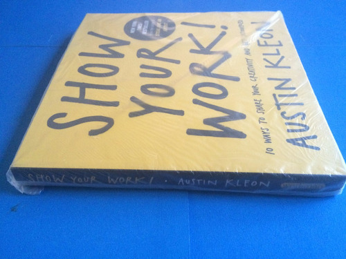 libro - show your work (austin kleon)