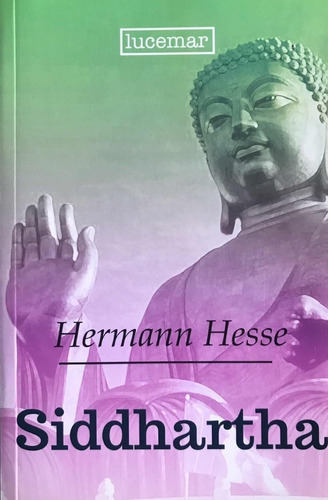 libro. siddharta. hermann hesse. clasicos fontana.