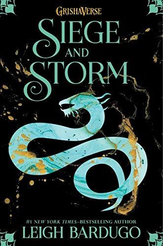 libro siege and storm - nuevo r