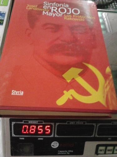 libro sinfonia en rojo mayor. los protocolos rakowski