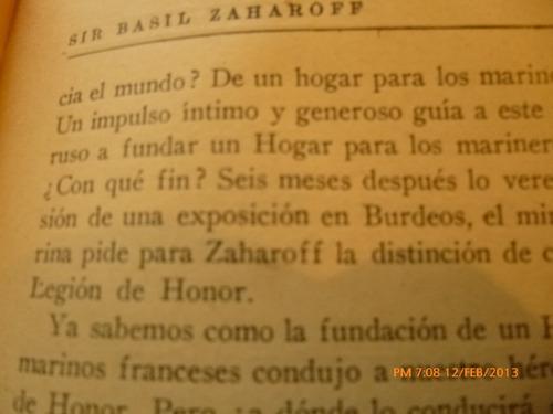 libro sir basil zaharoff el rey de los armamentos (107