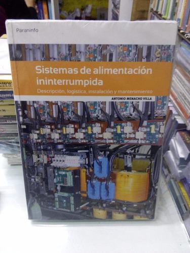 libro sistemas de alimentación interrumpida