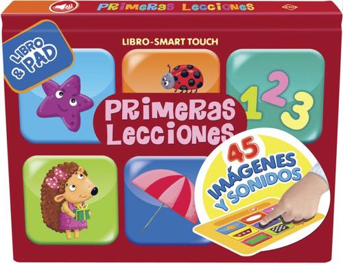 libro smart touch primeras lecciones book y pad
