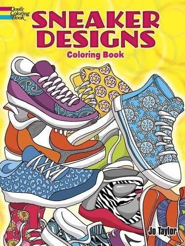 Libro Sneaker Designs Coloring Book - Nuevo - $ 410.00 en Mercado Libre
