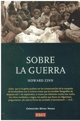 libro, sobre la guerra de howard zinn.