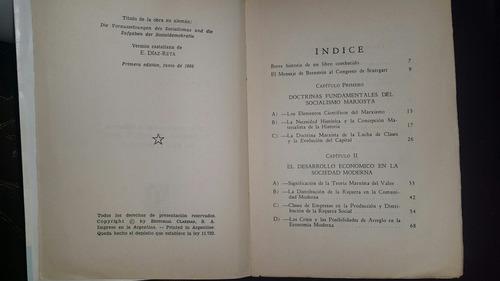 libro socialismo teórico y socialismo práctico  de bernstein