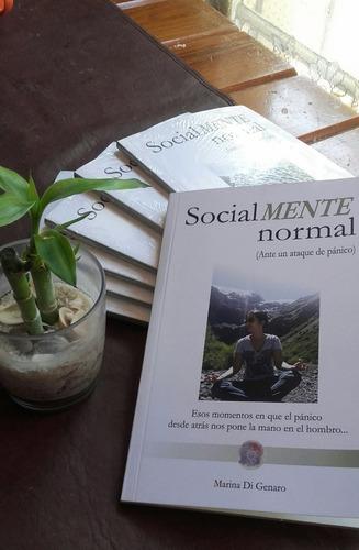 libro socialmente normal . ante un ataque de pánico