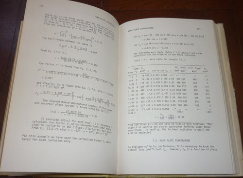 libro solar energy thermal processes quimica 1974 en ingles