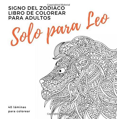 Libro : Solo Para Leo Un Libro De Colorear Para Adultos: ... - $ 729 ...