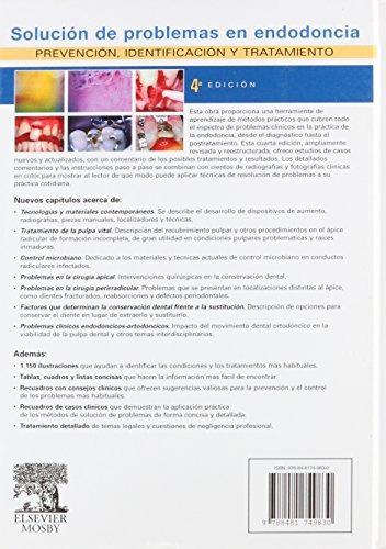 libro solucion de problemas en endodoncia - nuevo