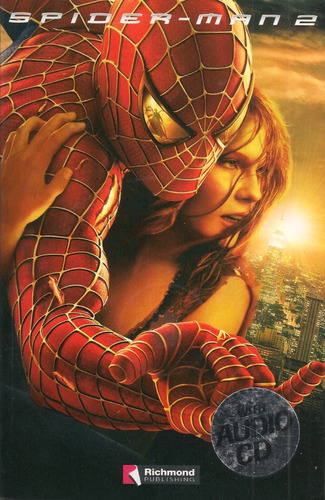 libro spider-man (en inglés) con audio cd