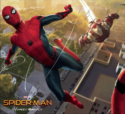 libro: spider-man: homecoming - the art of the movie