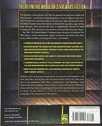 libro star wars: the essential reader's companion - nuevo