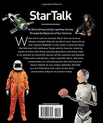 libro startalk: everything you ever need to know about space