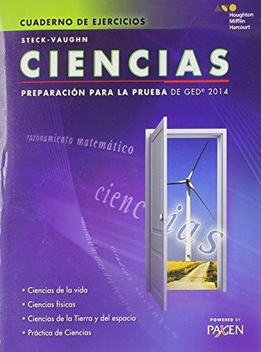 libro : steck-vaughn ged: test prep 2014 ged science  (1344)