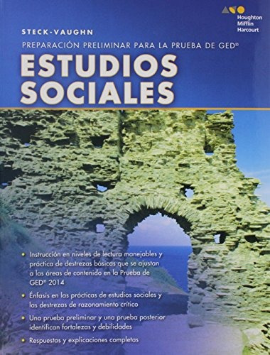 libro : steck-vaughn pre ged, spanish: social studies (sp..