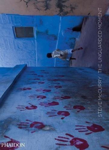 libro steve mccurry: the ungarded moment - nuevo