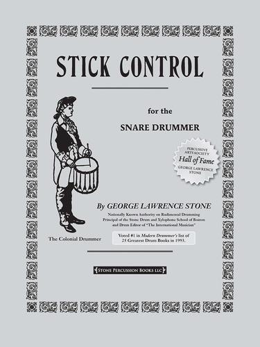 libro stick control: for the snare drummer - nuevo