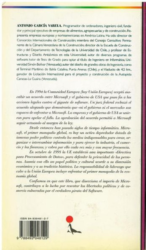 libro, stop gates now: para enfrentar a microsoft a. garcía.