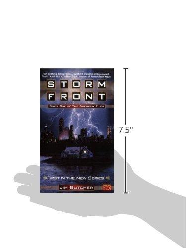 libro storm front - nuevo