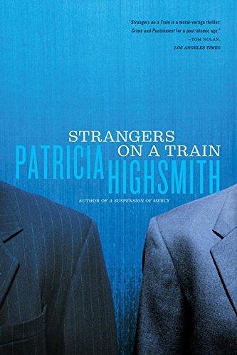 libro strangers on a train - nuevo