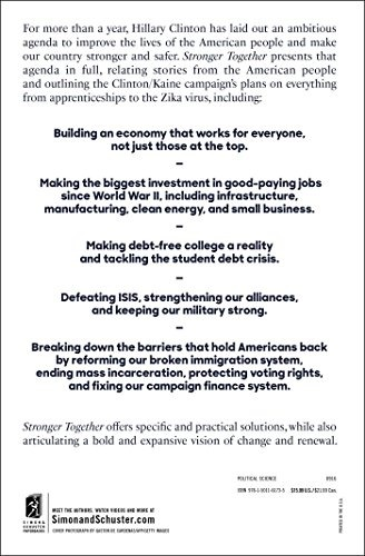 Libro stronger together a blueprint for americas future 70000 libro stronger together a blueprint for americas future malvernweather Image collections