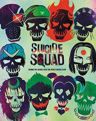 libro suicide squad: behind the scenes with the worst heroes