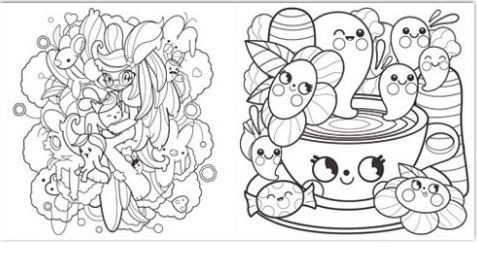 Libro Super Cute! Coloring Book - Meni Tzima - Monsa España - $ 450 ...