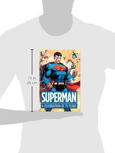 libro superman: a celebration of 75 years - nuevo