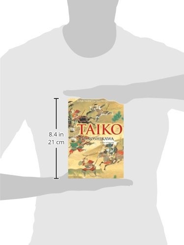 libro taiko: an epic novel of war and glory in feudal japan
