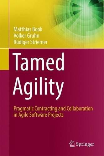 libro tamed agility: pragmatic contracting and collaborati