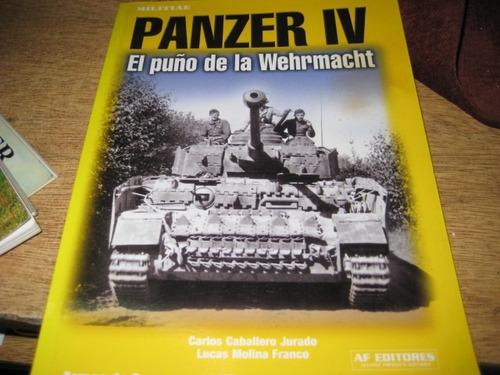 libro tanque panzer 4 - el puño de la wehrmacht alemania
