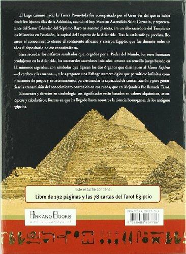 libro tarot egipcio. libro y cartas - nuevo