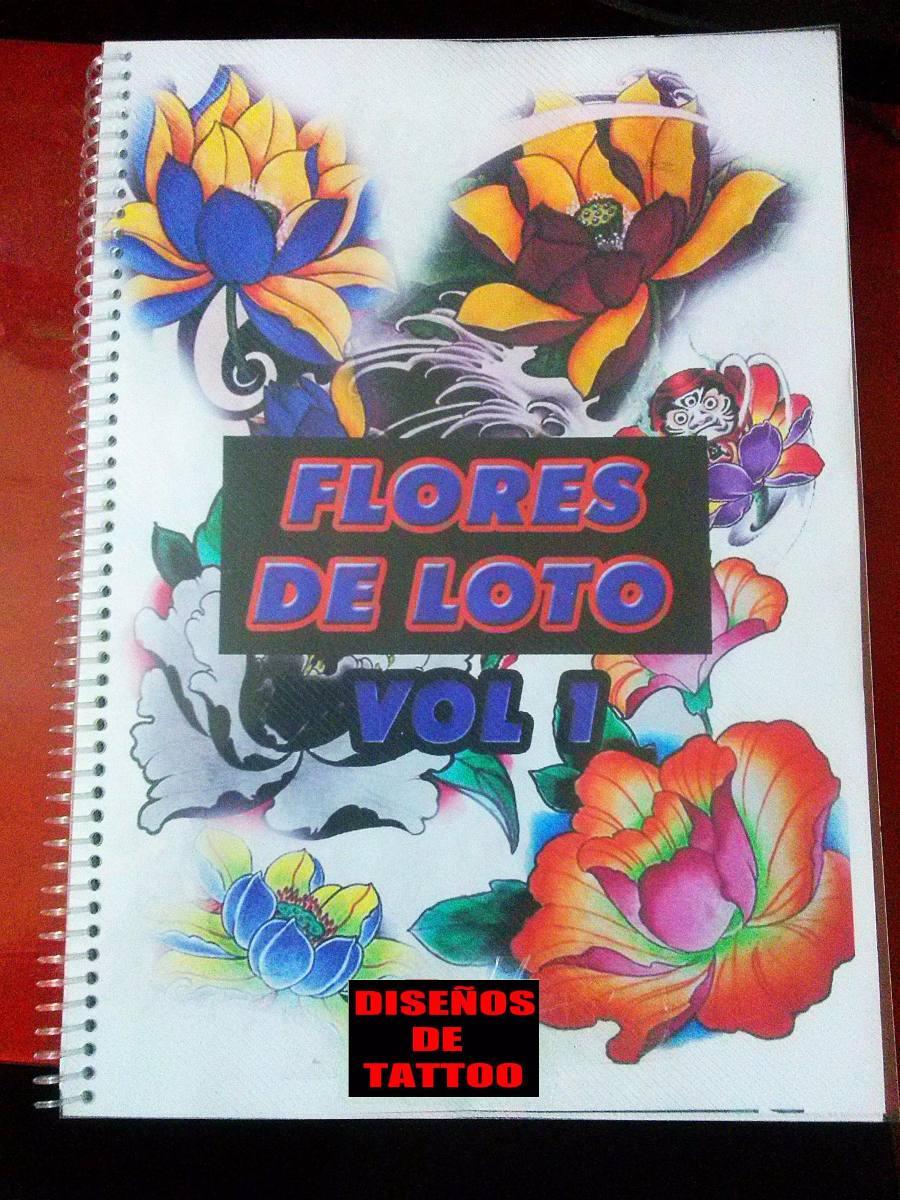 Libro Tattoo Flores De Loto (tam.grande) Diseños Color. - $ 380,00 ...