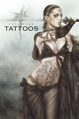 libro tattoos portafolio royo - luis royo