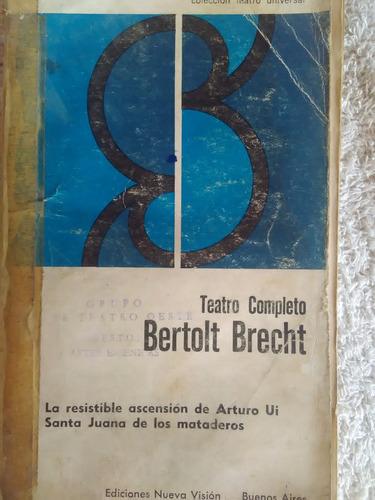 libro teatro competo de bertolt brecht