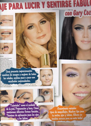 libro tecnicas de maquillaje simplemente glamour