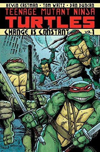 libro teenage mutant ninja turtles volume 1: change is con -