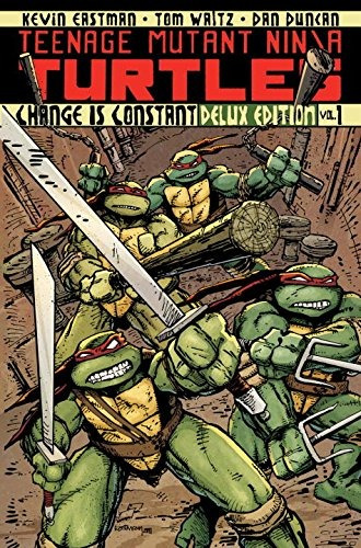 libro teenage mutant ninja turtles volume 1: change is con
