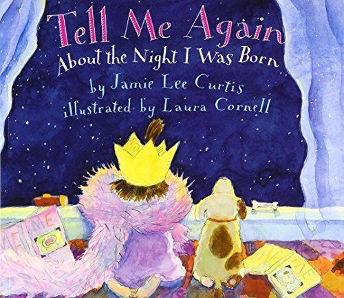libro tell me again about the night i was born - nuevo
