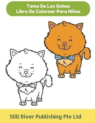 Libro : Tema De Los Gatos: Libro De Colorear Para Niños ... - $ 799 ...