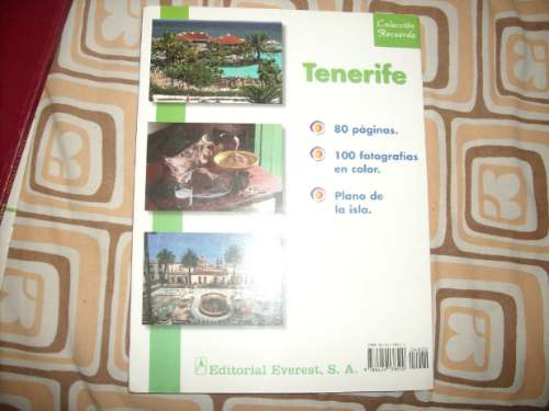 libro tenerife españa fotos y mapas de la isla adrogue