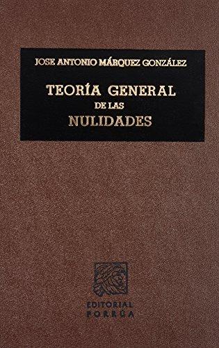 libro teoria general de las nulidades - nuevo