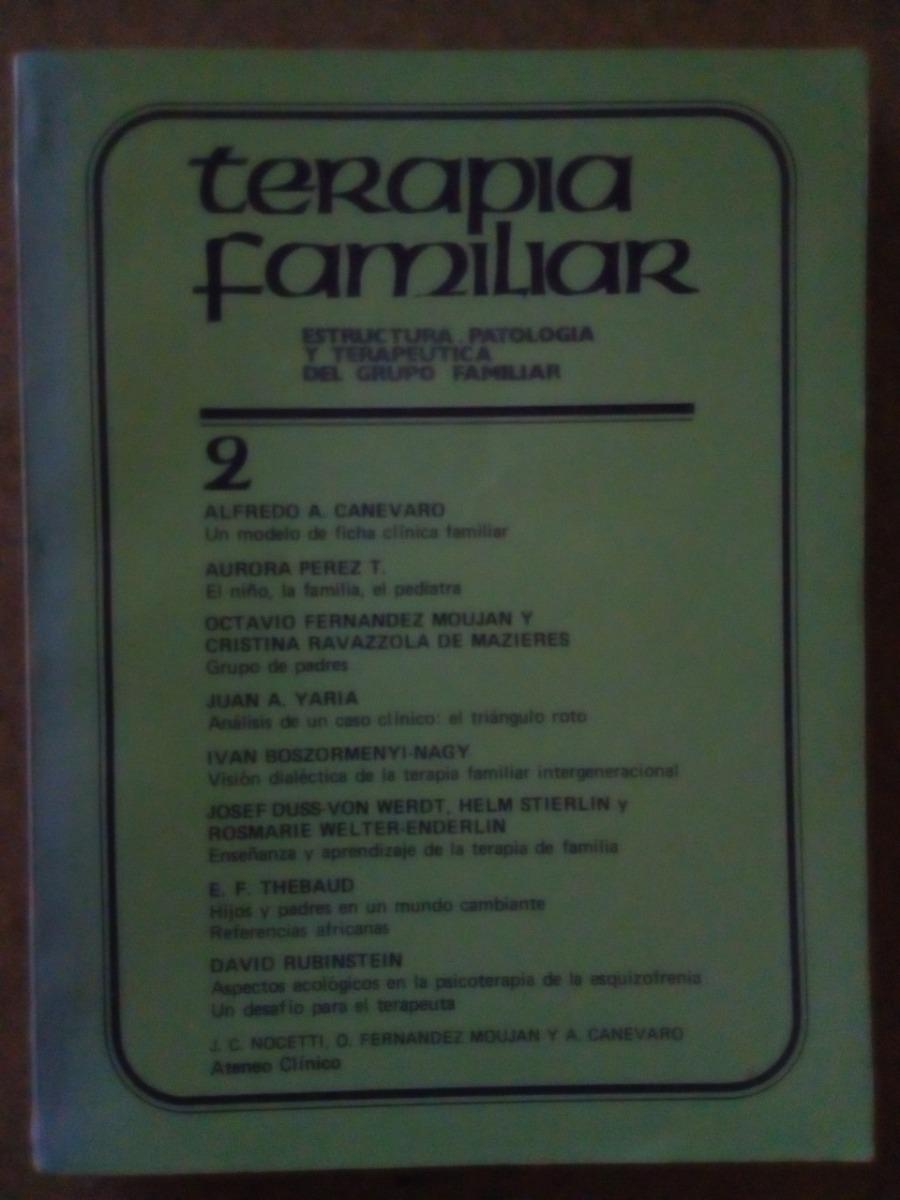 Libro Terapia Familiar Estructura Patologia Terapeutica 60 00