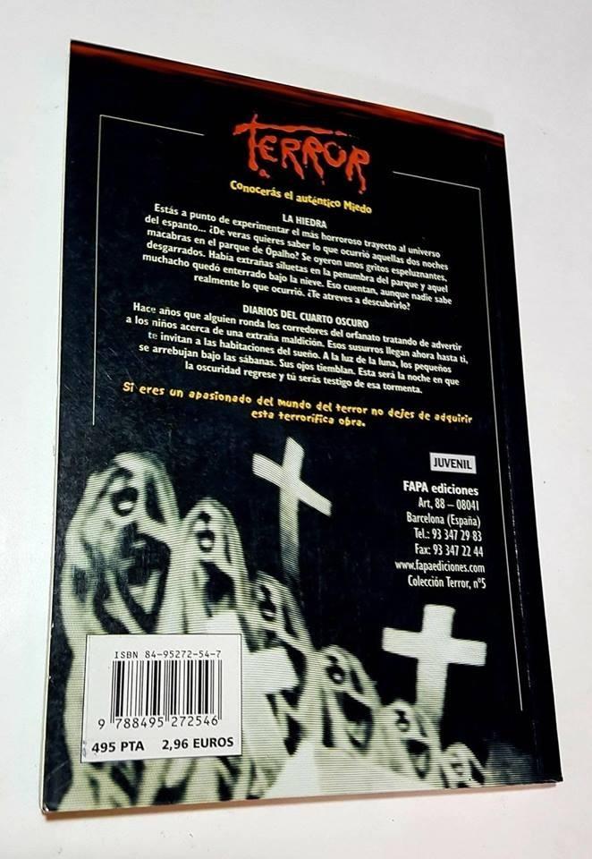 Libro Terror La Hiedra - Diarios Del Cuarto Oscuro - $ 240,00 en ...