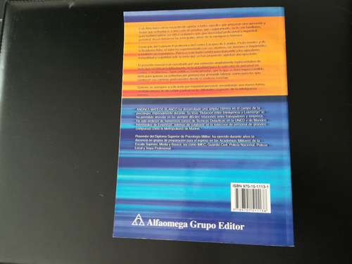 libro tests psicotécnicos - andrés mateos blanco
