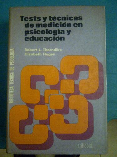 libro tests y tecnicas de medicion en psicologia y educacion
